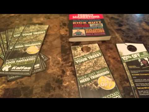 Door Hanger Tutorial  - Direct Marketing Ideas Lawn & Landscape Flyers