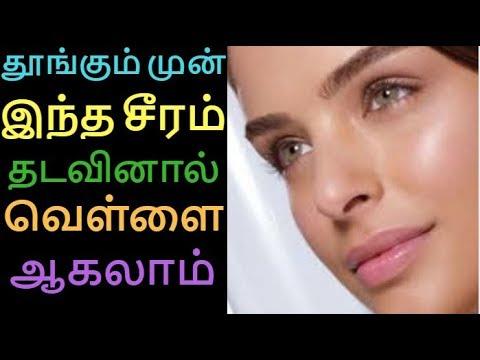 Aloe Vera Glow Serum for Spotless Clear Skin   Homemade Serum for Skin Whitening   Tamil Beauty tips