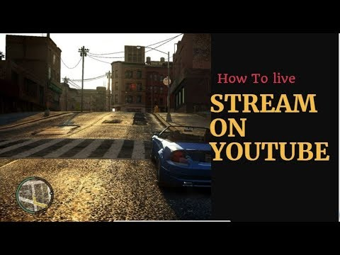 How to live stream on youtube by using free obs encoder in quick steps