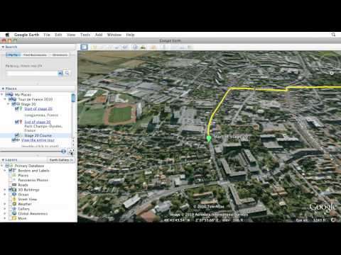 Learn Google Earth: Recording a Tour