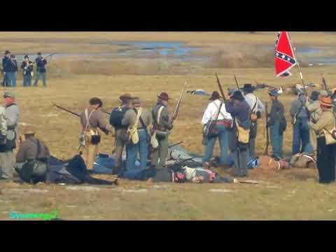 BrooksVille Raid, COLD HARBOR, Confederate Reenactment