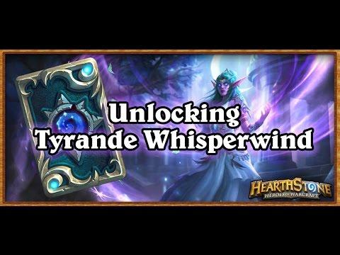 Hearthstone: How To Unlock Tyrande Whisperwind Guide