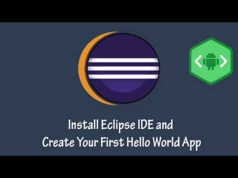 Android App Development Tutorial #2 Install Eclipse IDE and Create Your First Hello World App