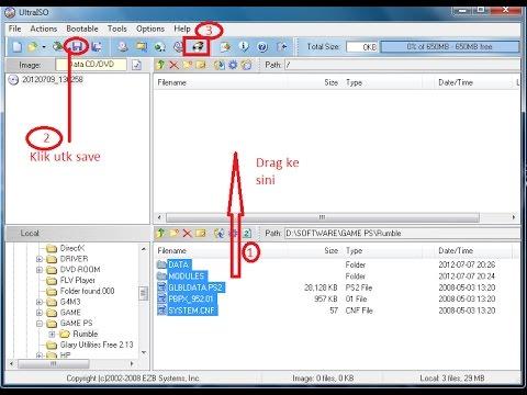 Cara Membuat Bootable CD DVD windows XP/7/8/10 dengan Ultra Iso Terbaru