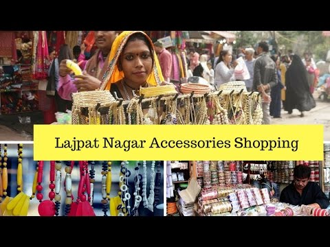 Buying Cheap  jewelry From Lajpat Nagar India - Vlog|Cheap And Fun Shopping Central Market  😀😬😀