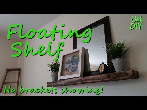 How to make a Floating Shelf - DIY Tutorial