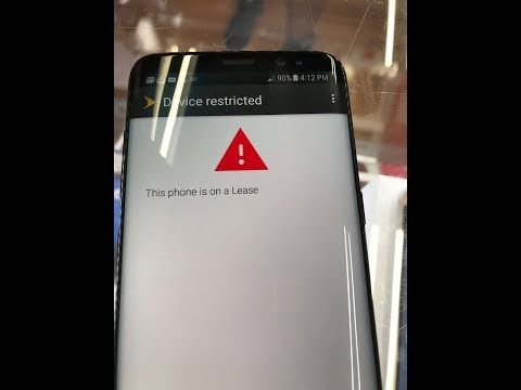 Remove Sprint Lease Pin Lock Samsung Galaxy S8 Plus G950U G955U