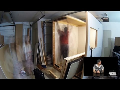 How I Built My Vocal / Sound Booth - Full Timelapse