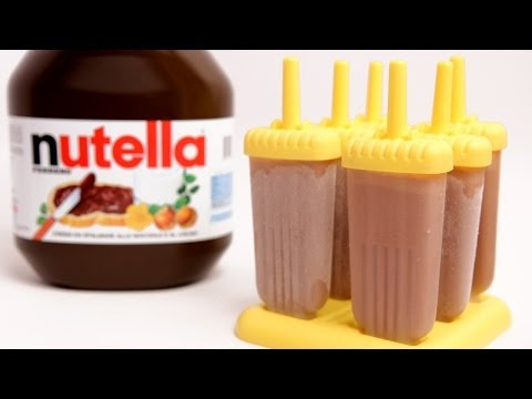 Nutella Popsicle Recipe - Laura Vitale - Laura in the Kitchen Episode 769
