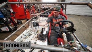 [HOONIGAN] DT 206: $200 Miata Shartkart Build [Part 9] - Hydro Handbrake and Race Seat Install