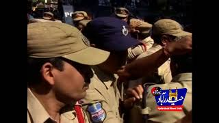 Police Foiled Congress Rally  In Hyderabad
