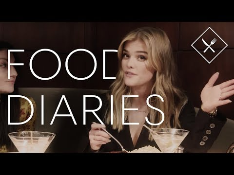 Everything Nina Agdal Eats In A Day | Food Diaries | Harper's BAZAAR