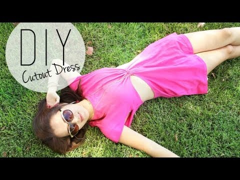 DIY Summer  Beach Cutout Dress Coverup   ANNEORSHINE