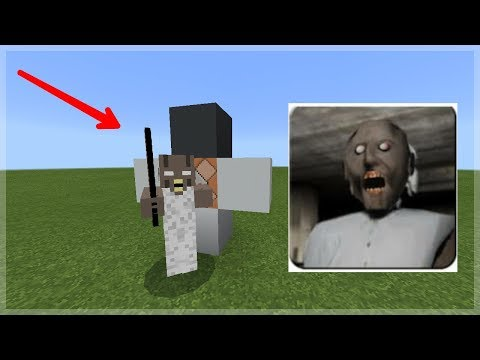 How To Spawn GRANNY in Minecraft Pocket Edition