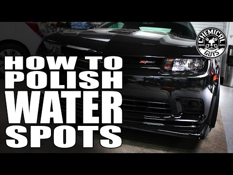 How To Polishing Water Spots - Chemical Guys Paint Correction