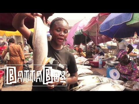 Nigeria's Biggest Fish and Octopus Market