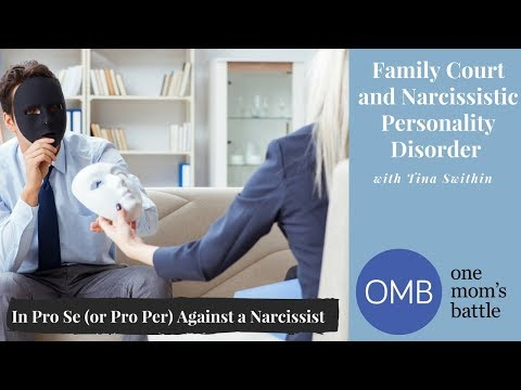 Going into Family Court against a Narcissist in Pro Se