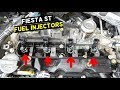 FORD FIESTA ST FUEL INJECTOR REPLACEMENT INJECTORS REMOVAL MK7