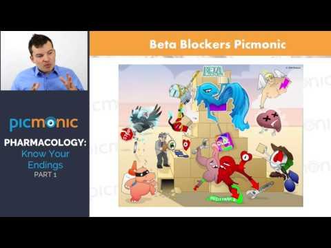 Pharmacology Made Easy - Drug Endings (Part 1) | Picmonic Nursing Webinar