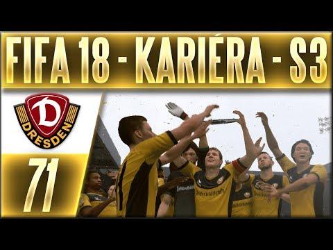FIFA 18 Kariéra - Drážďany   #71   Stats, Nej Hráči, Gól Roku (Hlasování) (S3)   CZ Let's Play