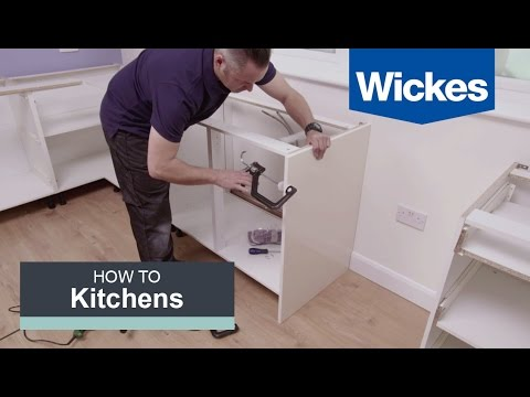 How to Install Base Cabinets with Wickes