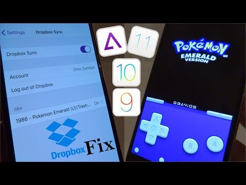 NEW Install GBA4iOS Dropbox FIX & Games FREE iOS 11 - 11.4 / 10 / 9 NO Jailbreak iPhone iPad iPod