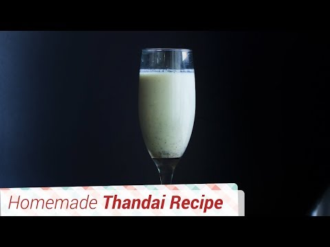Refreshing Thandai Recipe- Cool drink for the hot summers. Holi Festival drink.