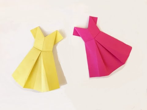 How to make a Paper dress? (easy)