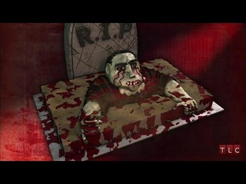 A Delicious Zombie Cake for Halloween | Cake Boss