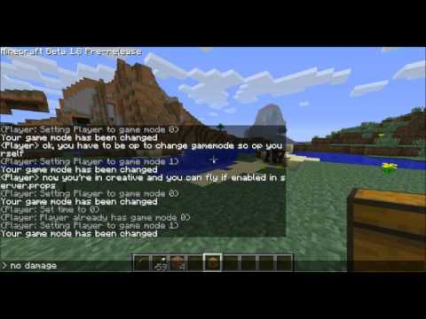 Minecraft Tutorial: How to change gamemode in Minecraft on a server