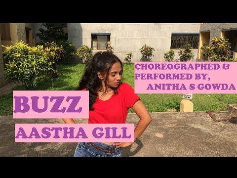 Buzz | Aastha Gill ft. Badshah | Dance Cover | Anitha S Gowda