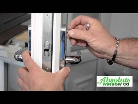 Changing A uPVC Door Handle