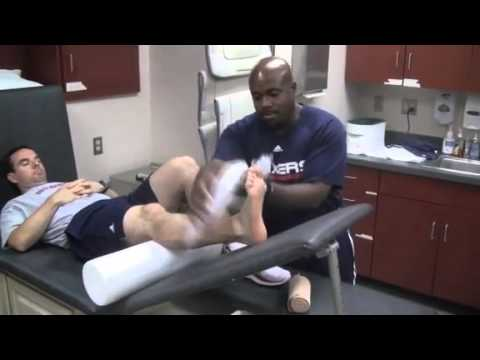 Training Tips: Ankle Treatment with Kevin Johnson - 7/8/2011