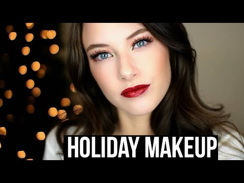 Easy Holiday Makeup Tutorial! | Kelly Nelson
