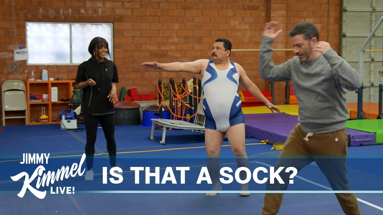 Cruz Takes a Snooze, Biden's 100th Day and Gabby Douglas Teaches Jimmy & Guillermo How to Cartwheel