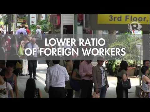 Fewer jobs for Pinoys, foreigners in Singapore in 2013