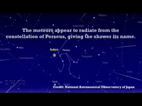 Perseid Meteor Shower Explained - Most Active Of The Year! | Video