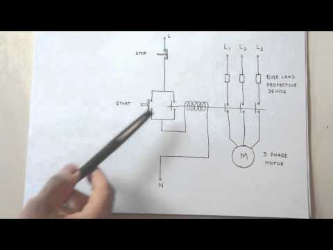 How a 3 Phase Motor Control Circuit Works