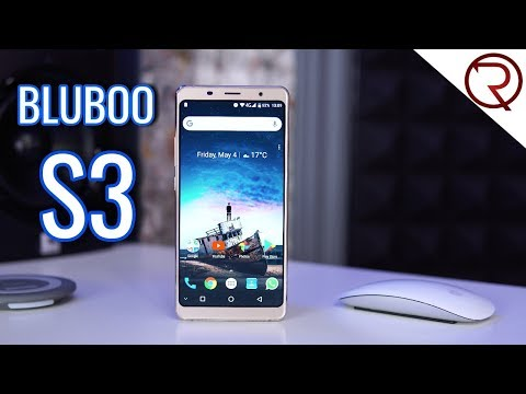 Bluboo S3 Smartphone REVIEW - 8500mAh, NFC, 6