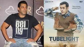 Salman Khan says he expected a minus 3 and 4 stars for Tubelight