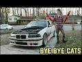 CATALYTIC CONVERTER DELETE! : BMW E36 325i Drift Build Ep. 13