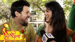 Exclusive! Gudi Padwa Quiz With Swapnil Joshi & Anjana Sukhani   Laal Ishq Marathi Movie