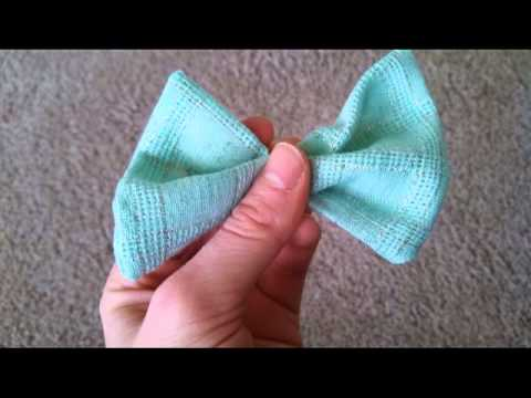 Chic On the Cheap: American Apparel Hairbow Knock-off