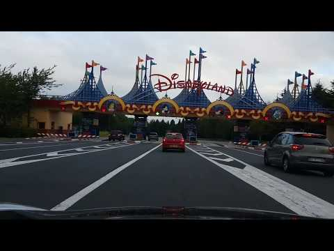 Drive from Disney's Davy Crockett Ranch to Disneyland Paris via Key Drop Off