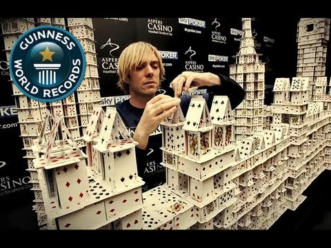 Largest Card Stacking Structure - Record Holder Profile - Bryan Berg Pt.2 - Guinness World Records