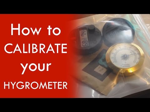 How to calibrate your hygrometer