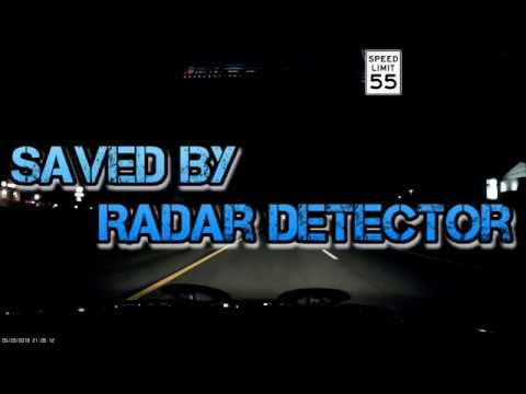 Saved By Radar Detector from Cops   Valentine One