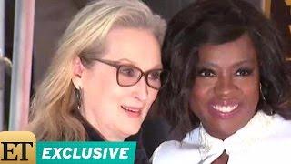 EXCLUSIVE: Viola Davis on Having Meryl Streep Speak at Her Hollywood Walk of Fame Ceremony