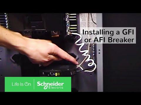 GFI Breaker Installation | Schneider Electric Support