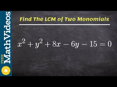 Pre Calculus Unit 6   Find the center and radius of a circle with completing the square
